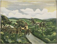 Landscape with Palms