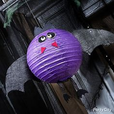 We see DIY bats in your belfry! How to whip up paper lantern bats your boo crew will love – plus lots more Halloween decorating inspiration and crafts.