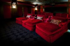 Elite Home Theater Seating Designs | Cool Home Theater Seats