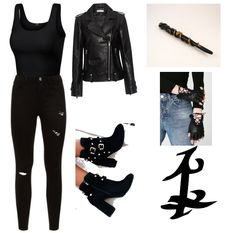 Source by stanxhiddleston outfit Bad Girl Outfits, Swag Outfits For Girls, Teenage Outfits, Teen Fashion Outfits, Cute Casual Outfits, Clary Fray Outfit, Shadowhunters Outfit, Jugend Mode Outfits, Hunter Outfit