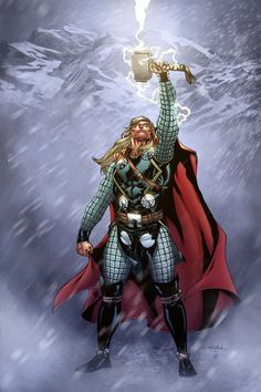 Thor in Jotunheim by SpiderGuile on @DeviantArt