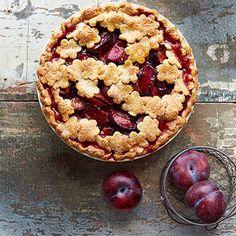 Rustic Plum Pie!   Easy Summer Fruit Pies - Homemade Fruit Pies - Good Housekeeping