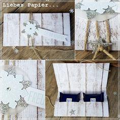 Liebes Papier...: Noch mehr quadratisch Praktisches in Holzoptik mit Anleitung...