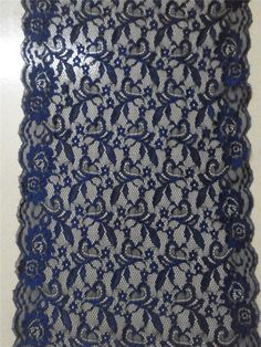 Hey, I found this really awesome Etsy listing at https://www.etsy.com/listing/240023482/navy-lace-table-runner-12-wedding-table