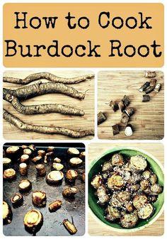 How to Cook Burdock Root