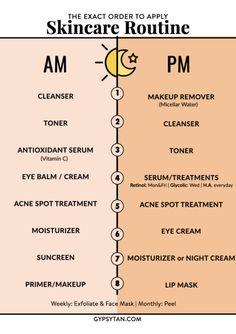 Face Skin Care, Diy Skin Care, Skin Care Tips, Face Care Tips, Good Skin Tips, Face Tips, Haut Routine, Skin Care Routine Steps, Nightly Skin Care Routine
