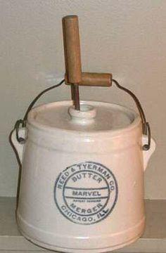 Crock butter churns