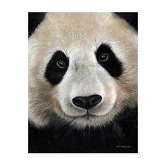 Giant Panda oil painting by Sarah Stribbling Panda Art, British Wildlife, Artist Painting, Oil On Canvas, Instagram Images, Wall Art, Artwork, Art Work, Work Of Art