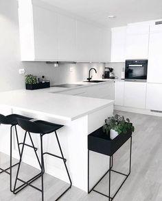 """Modern Kitchen Interior Modern Interior Inspiration ( """"Inspiration: So happy to share you ❤️ Love from ❤️ ______________…"""" - Kitchen Room Design, Best Kitchen Designs, Home Decor Kitchen, Interior Design Kitchen, Home Design, Interior Modern, Design Ideas, Kitchen Ideas, Kitchen Trends"""