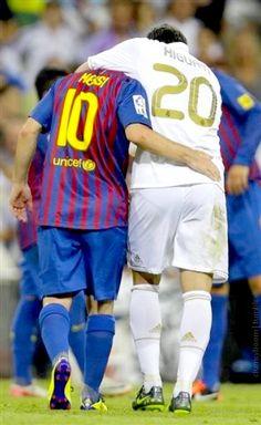 Messi and Higuain