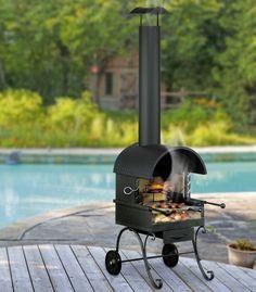 #Grillkamin #Gartenkamin #Holzkohlegrill #Grill #Barbecue #BBQ von #HEIBI