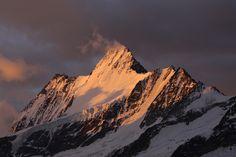 Schreckhorn, Bernese Alps, Switzerland