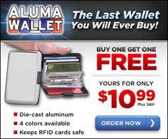 aluma wallet as seen on tv
