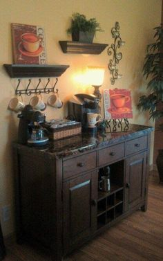 My next project... A coffee bar!!