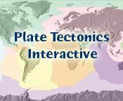 plate tectonics interactive from Dive and Discover's Deeper Discovery