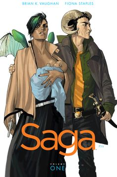 Saga Vol. 1, by Brian K. Vaughn and Fiona Staples | 19 Comic Books Perfect For Turning You Into A Comics Reader