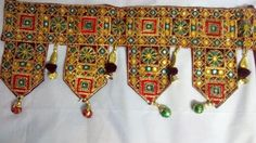 Toran India Ethnic Embroidery Door Valance Vintage Wall Window Decor Hanging GG1 #Unbranded #IndianToran