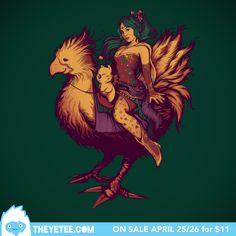 Mogs Chocobo Riding Club by Megan Lara on www.theyetee.com