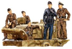 Tiger crew Normandy 1944