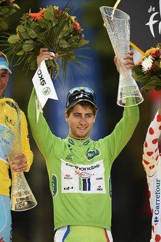 Tour de France 2014 - Stage 21: Évry - Paris Champs-Élysées - Peter Sagan (Cannondale) wins the green jersey