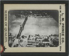 Covington, Kentucky flooded during January of 1937.