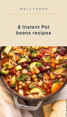 instant pot recipes Vegetarian Chili, Vegetarian Dinners, Bean Recipes, Chili Recipes, Instant Pot Beans Recipe, Pot Recipe, Superfood Recipes, Healthy Recipes, Delicious Dinner Recipes