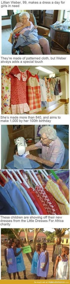 My grandma might have done that but I can see why she wouldn't. She has the skills, tho.