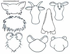 how to draw animal heads Doodle Drawings, Cartoon Drawings, Animal Drawings, Drawing Lessons, Art Lessons, Drawing For Kids, Art For Kids, Art Worksheets, Ecole Art