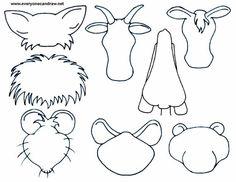 animal heads - 3
