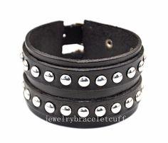jewelry leather bracelet girl bracelet men by jewelrybraceletcuff, $9.00