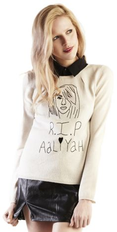 RIP AALIYAH SWEATER