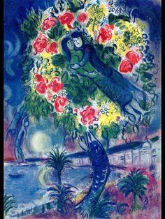 Marc Chagall_Couple et poisson - Nice et la Côte D' Azur