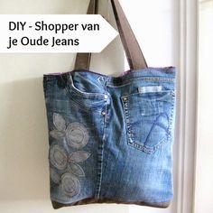 Inspiratie | Tassen maken van gerecyclede Jeans, met ideeën en veel tips op Sew Natural Blog