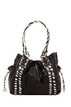 B & W Shopper Bag