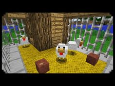 ✔ Minecraft: How to make a Chicken Coop - YouTube