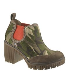 Look at this Camo Megs Bootie on #zulily today!