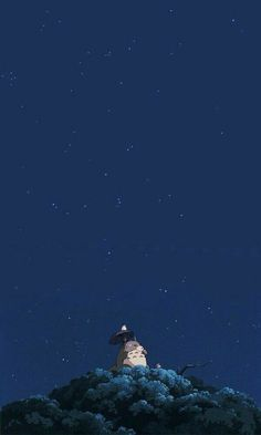 Anime Backgrounds Wallpapers, Anime Scenery Wallpaper, Animes Wallpapers, Cartoon Wallpaper, Cute Wallpapers, Phone Wallpapers, Studio Ghibli Art, Studio Ghibli Movies, Iphone Wallpaper Totoro
