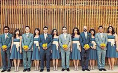 Group Photography Ideas: 20 Creative Wedding Poses for Bridal Party - 5 - Pelfind
