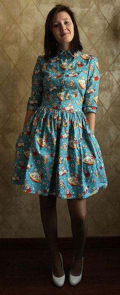 Платья ручной работы. Ярмарка Мастеров - ручная работа платье № 3. Handmade.