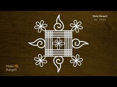 Simple and Basic Padi Kolam Simple Rangoli Border Designs, Rangoli Simple, Indian Rangoli Designs, Rangoli Designs Latest, Rangoli Designs Flower, Free Hand Rangoli Design, Small Rangoli Design, Rangoli Patterns, Rangoli Ideas