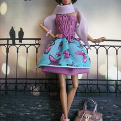 Butterfly  -  poupees  fashion  royalty -  barbie
