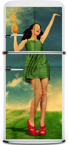 A fridge magnet the size of your fridge? Love this!! Only trouble is in deciding which of these beautiful magnets to choose. I'm liking this one best today.