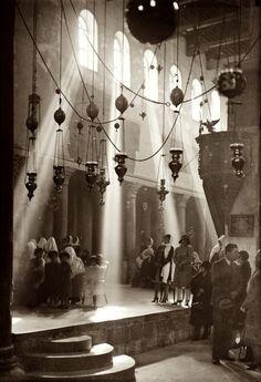Church of the Nativity, Bethlehem Jerusalem (1940)