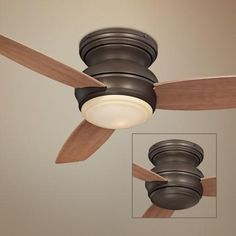 """44"""" Minka Traditional Concept Oil-Rubbed Bronze Ceiling Fan -"""