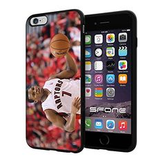 "NBA Basketball Player Kyle Lowry Toronto Raptors, Cool iPhone 6 Plus (6+ , 5.5"") Smartphone Case Cover Collector iphone TPU Rubber Case Black Phoneaholic http://www.amazon.com/dp/B00WGVIA2G/ref=cm_sw_r_pi_dp_8gPpvb0HSJ7TE"