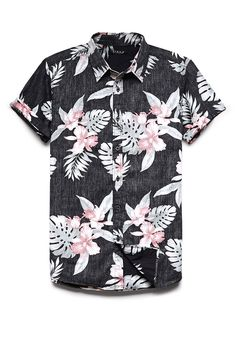Reverse Tropical Print Shirt | 21 MEN #SummerForever #21Men