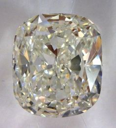 0.91-Carat Cushion Modified Brilliant Cut Diamond  $2155.79  This Fancy-cut J-color, and SI1-clarity diamond comes accompanied by a diamond grading report from GIA