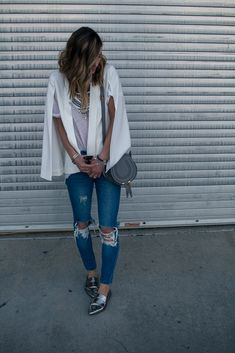 Cella Jane // Fashion + Lifestyle Blog: Cape Blazer