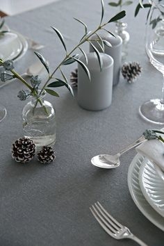 Table setting Christmas Eve - Stylizimo