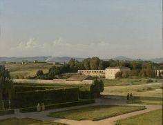 View of the gardens of Villa Medici by Michel-MartinDrölling, 1811-1816. Rijksmuseum, Public Domain